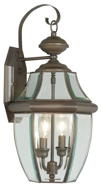 Bronze Wall Lantern - Traditional - Outdoor Wall Lights And Sconces - by We Got Lites