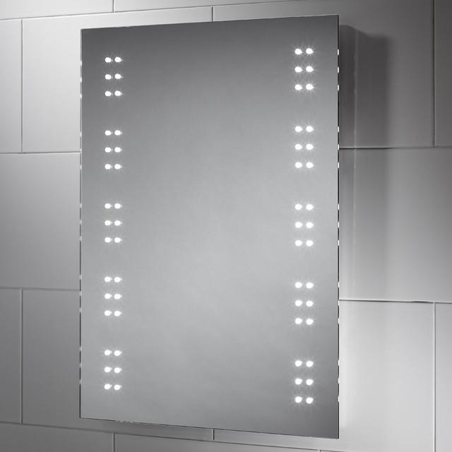 Fantastic Battery Operated Round LED Vanity Mirror  Bathroom Lights  Pinterest