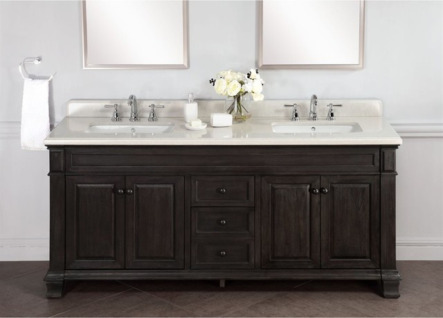 72 inch distressed double single sink bathroom vanity - 72 inch single sink bathroom vanity ...