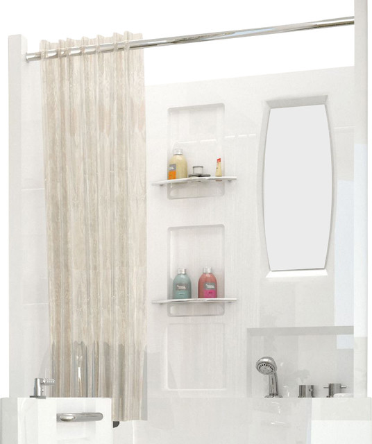 Meditub 31x40 top shower enclosure tub and shower parts for Bathroom medicine cabinets 16x20