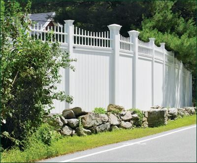 Vinyl Universal Board Fence Modern Home Fencing And