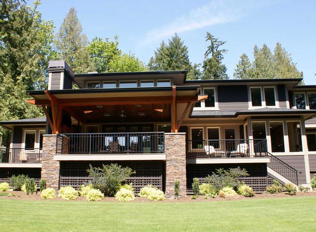 Prairie Inspired Modern House Plan 3359