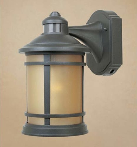 Hanover Oil Rubbed Bronze One Light Outdoor Wall Mounted Light Modern Out