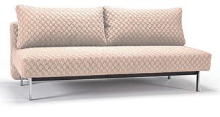 """Innovation"" Sly Coz Sand Sofa Bed Chrome Legs Contemporary Sofas new york by"