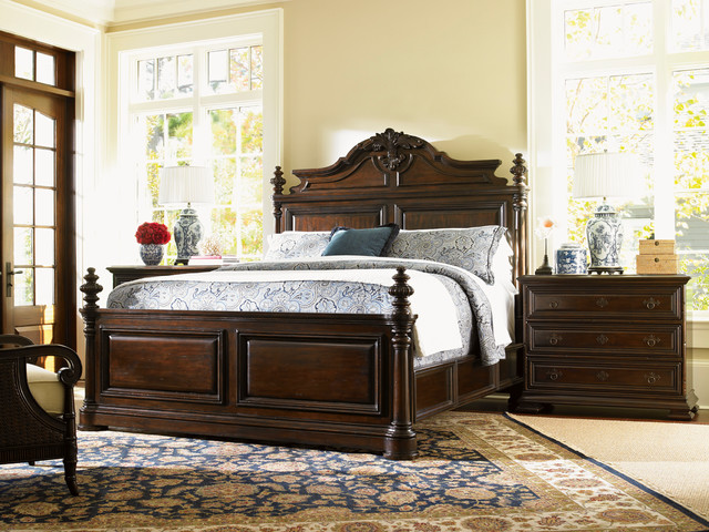 Tommy bahama home island traditions bedroom collection transitional bedroom products new for Transitional bedroom furniture