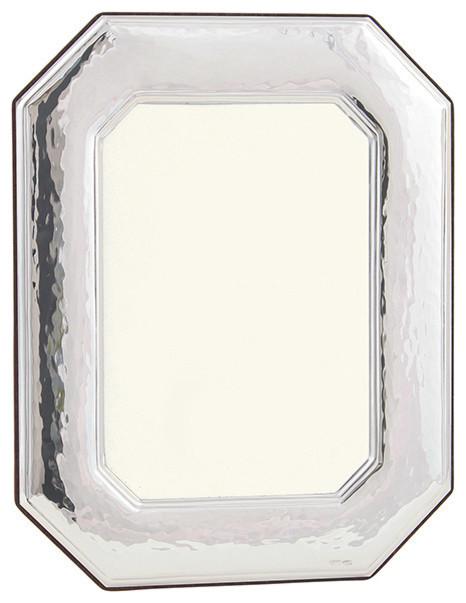 sterling silver octagonal frame size 4x6 modern picture frames by ahalife. Black Bedroom Furniture Sets. Home Design Ideas