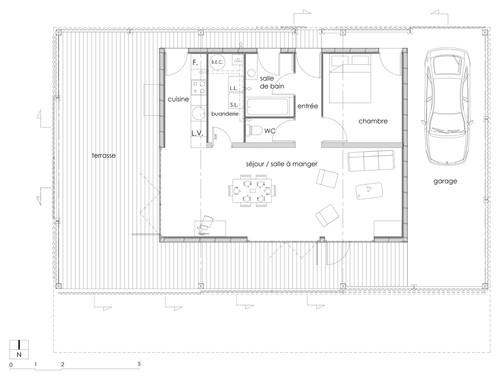 Ils avaient un petit budget ils ont transform ce hangar en maison modulable le huffington post for Construire une maison sur un terrain agricole