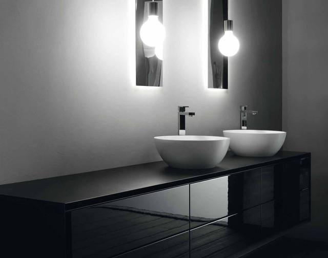 rifra bathroom bauhaus look waschbecken perth. Black Bedroom Furniture Sets. Home Design Ideas