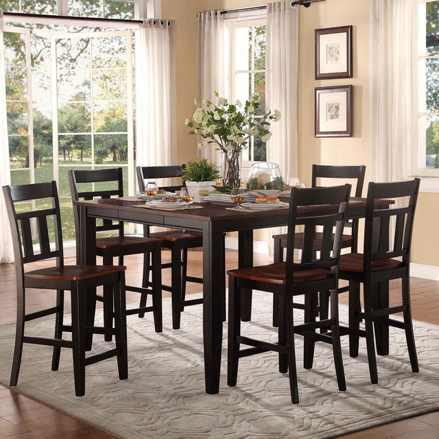 Counter Height Rustic Dining Sets : All Products / Dining / Kitchen & Dining Furniture / Dining Tables