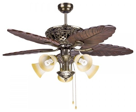 Big Traditional Decorative Ceiling Fan Light for Living ...