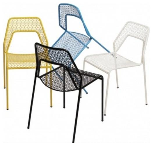 Blu Dot Hot Mesh Indoor Outdoor Chair Modern Outdoor