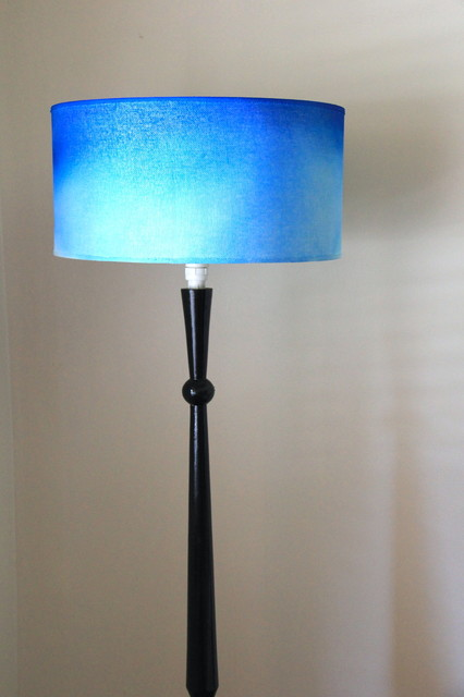 diy ombre lamp light shade beach style floor lamps wollongong. Black Bedroom Furniture Sets. Home Design Ideas