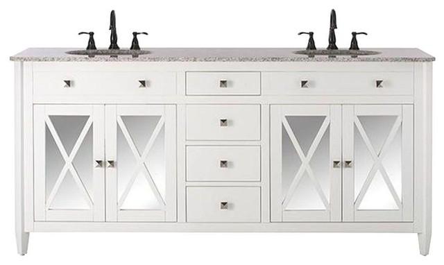 Home Decorators Collection Bathroom Barcelona 73 In Double Vanity In White
