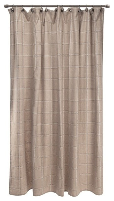 Cedar Hills Plaid Shower Curtain