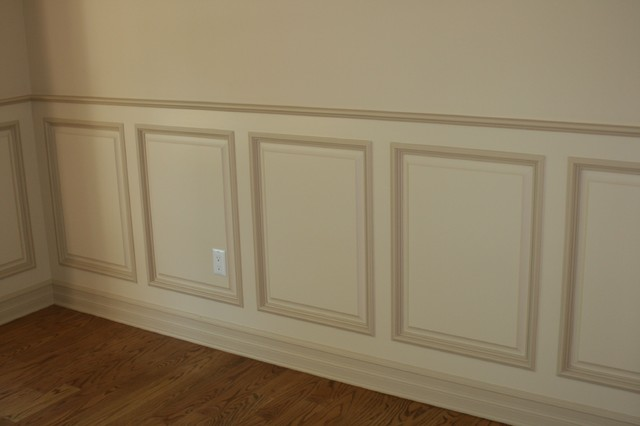 Subtle Curve Cottage BeadBoard Paneling Cherry Wood Twin