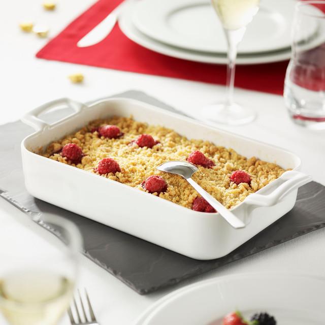 Revol france belle cuisine rectangular roasting dish for Cuisine 5582
