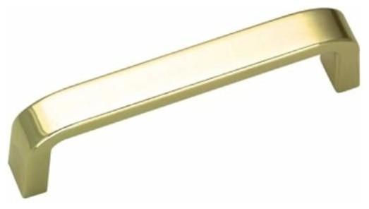 Richelieu Contemporary Metal Pull 3 1/2 Inch Brass ...