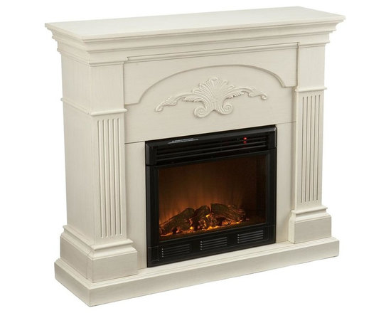 Shop Traditional White Fireplaces On Houzz