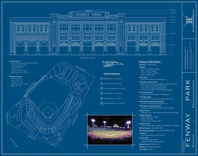 fenway park wall mural contemporary wall stickers