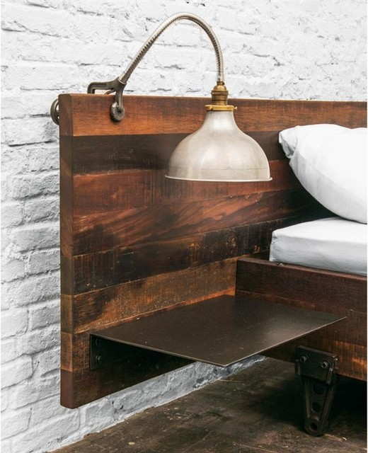industrial wood iron bedroom set rustic bedroom furniture sets