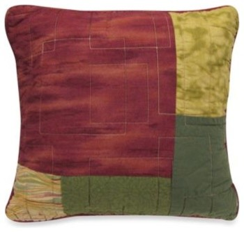 Modern Southwest Pillow : Donna Sharp Southwest Square Toss Pillow - Contemporary - Decorative Pillows - by Bed Bath & Beyond