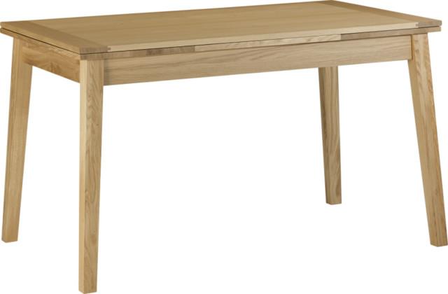 Ruskin table de salle manger extensible contemporain for Salle a manger habitat