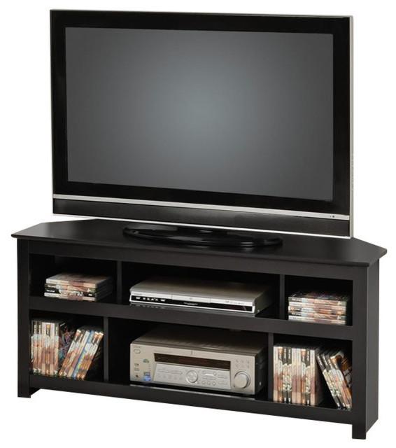 Prepac Vasari Corner Flat Panel Plasma/LCD 48 Inch Console - Contemporary - Entertainment ...