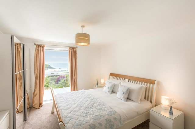 seascape bedroom south west by the beach house company