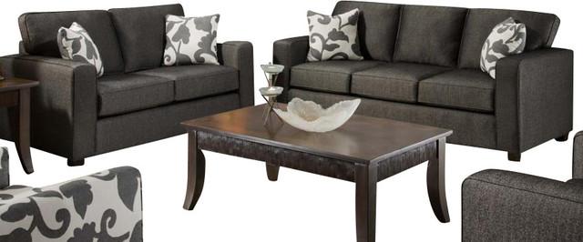chelsea home bergen 2 piece living room set upholstered in