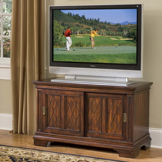 Windsor Cherry TV Stand - Contemporary - Entertainment Centers And Tv ...