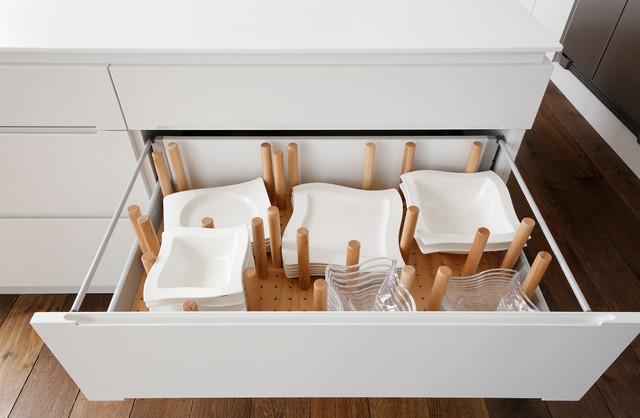 flexible schubladeneinrichtung variable drawer interior. Black Bedroom Furniture Sets. Home Design Ideas