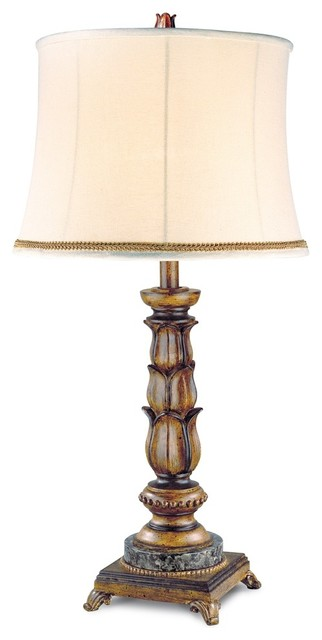 table lamp fruitwood traditional table lamps by alcove lighting. Black Bedroom Furniture Sets. Home Design Ideas