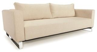 Cassius Sleek Excess Lounger Sofa Sleeper Innovation Modern Futons Other by Italmoda