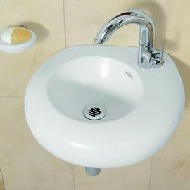 villeroy boch pure stone handwaschbecken. Black Bedroom Furniture Sets. Home Design Ideas