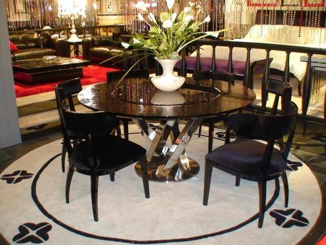 Armani Xavira Dining Set Modern Dining Sets Las Vegas By Boho Furnitu