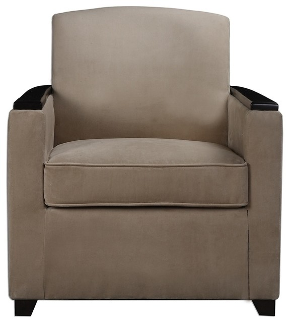 Kempton Armchair By Uttermost Transitional Armchairs And Accent Chairs