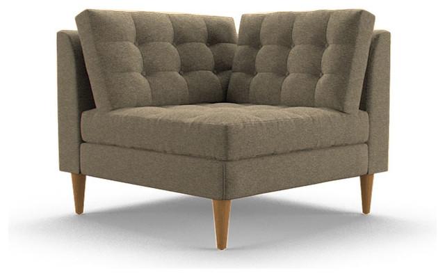Eliot Corner Chair Key Largo Pumice Beige Midcentury  : midcentury futons from houzz.com size 640 x 398 jpeg 47kB