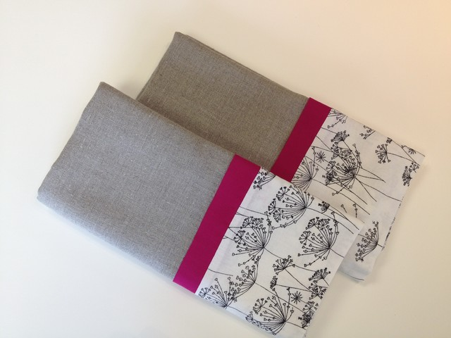 Eclectic Pillow Cases : Custom Sleeping Pillow Cases - Eclectic - Pillowcases And Shams - orange county - by Emily ...