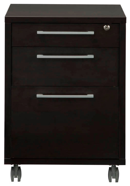 Mobile Pierce File Cabinet - Contemporary - Filing Cabinets - by Tvilum