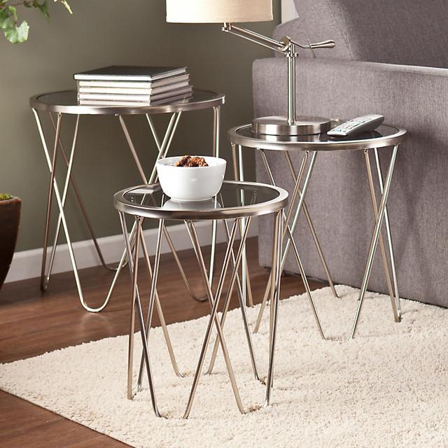 living room smart furniture modern side tables end