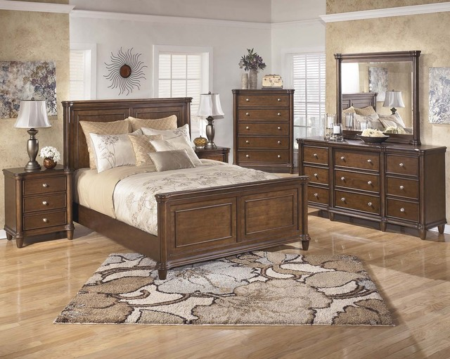 Daleena king size bedroom set transitional bedroom furniture sets other metro by my for Transitional bedroom furniture