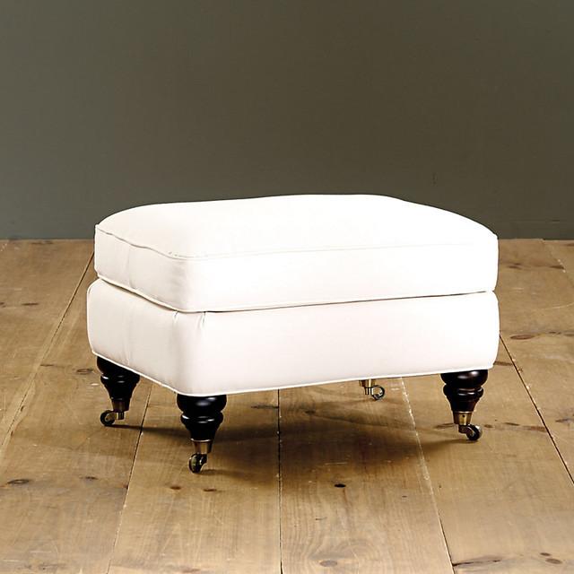 Ottomans Footstools Ch 226 Teau Footstool Traditional