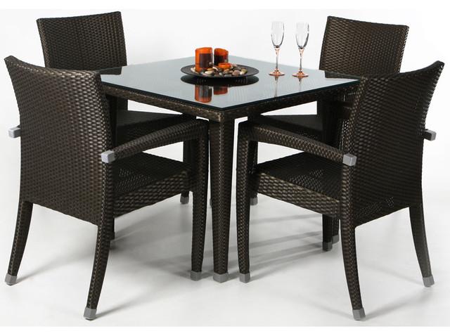 Contemporary Outdoor Dining Set 64