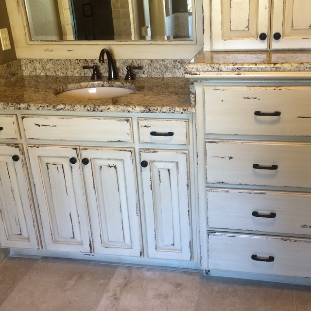 Distressed bathroom cabinets 28 images distressed for Bed stuy fish fry schermerhorn