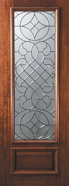 exterior slab doors with glass