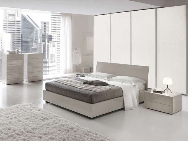 Made in Italy Wood Elite Design Furniture Set - Modern - Bedroom Furniture Sets - Detroit - by ...