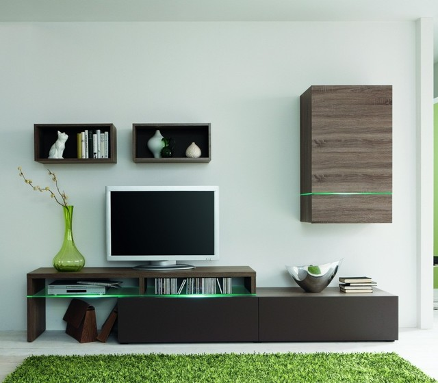 Amsterdam Modern Space Saving Wall Unit Contemporary