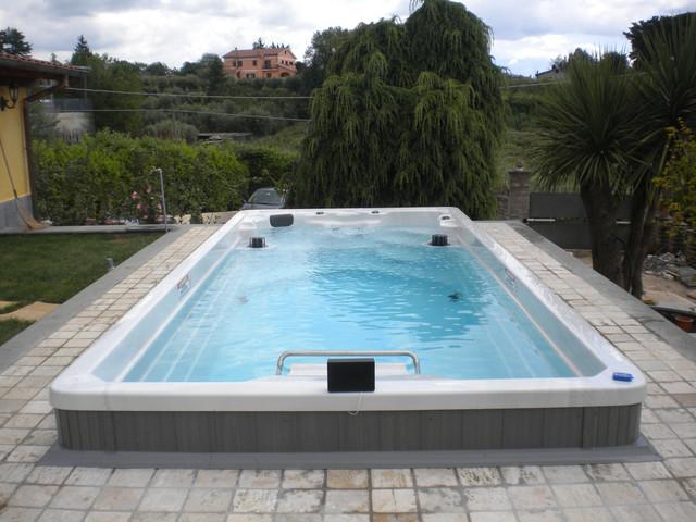 17 39 Endless Pool Swim Spa Mediterranean Other Metro By Endless Pools