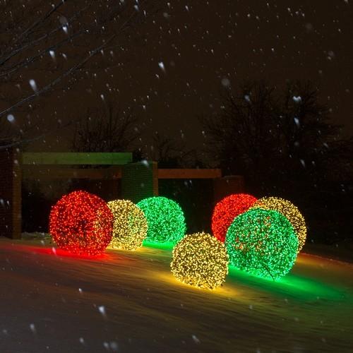 holiday lighting spheres - Christmas Light Spheres