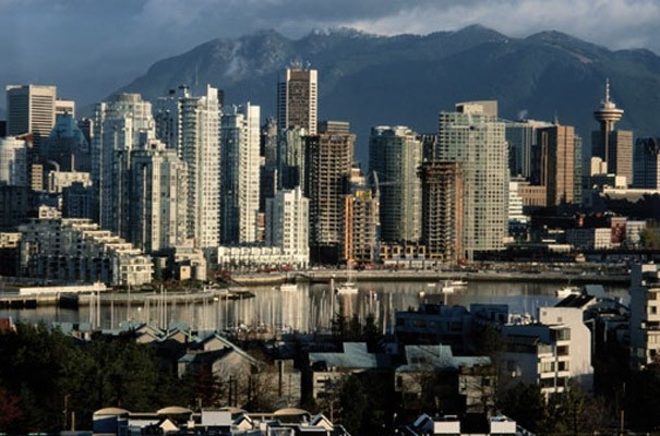 vancouver canada photo wall mural industrial wallpaper